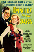 "Movie Posters:Drama, Dancers in the Dark (Paramount, 1932). Full-Bleed One Sheet (26"" X40"") Style A.. ..."
