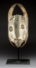 Tribal Art, A Large West African Mask wood mask with t...