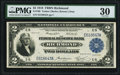 Fr. 760 $2 1918 Federal Reserve Bank Note PMG Very Fine 30
