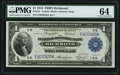 Fr. 721 $1 1918 Federal Reserve Bank Note PMG Choice Uncirculated 64