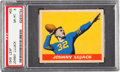 Football Cards:Singles (Pre-1950), 1949 Leaf Johnny Lujack #56 PSA NM-MT 8 - Only One Higher. ...