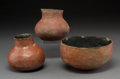 American Indian Art:Pottery, Three Salado Redware Vessels... (Total: 3 Items)