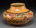 American Indian Art:Pottery, A Hopi Polychrome Jar. Ant Woman (Marcia Rickey)...