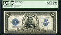 Large Size:Silver Certificates, Fr. 282 $5 1923 Silver Certificate PCGS Gem New 66PPQ.. ...
