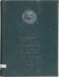 Books, [World Coins]. Reference Works on World Coins. Includes: Volumes1-3 (as published in five) of the Catalogue of the Byzant...