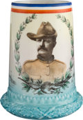 Political:3D & Other Display (1896-present), Theodore Roosevelt: Spectacular Rough Rider Mug by Lenox....