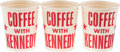 Political:3D & Other Display (1896-present), John F. Kennedy: Campaign Coffee Cups.... (Total: 3 Items)