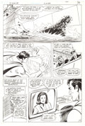 Original Comic Art:Panel Pages, Curt Swan and Sal Amendola The Superman Movie Special #1Story Page 39 Original Art (DC, 1983)....