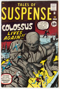 Silver Age (1956-1969):Science Fiction, Tales of Suspense #20 (Marvel, 1961) Condition: FN+....