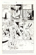 Original Comic Art:Panel Pages, Alan Davis and Paul Neary Excalibur #9 Story Page 1 OriginalArt (Marvel, 1989)....