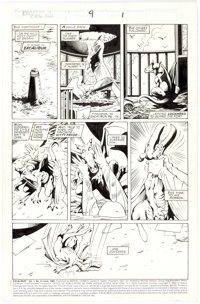 Alan Davis and Paul Neary Excalibur #9 Story Page 1 Original Art (Marvel, 1989)