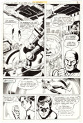 Original Comic Art:Panel Pages, Joe Staton and Frank McLaughlin Green Lantern #127 StoryPages 2 and 7 Original Art Group of 2 (DC, 1980)....