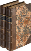 Books, (Anburey, Thomas). Travels through the Interior Parts ofAmerica; In a Series of Letters. By an Officer. ...