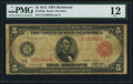 Large Size:Federal Reserve Notes, Fr. 836b $5 1914 Red Seal Federal Reserve Note PMG Fine 12.. ...