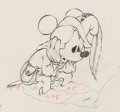 Animation Art:Production Drawing, The Brave Little Tailor Mickey Mouse Animation Drawing (WaltDisney, 1938). ...