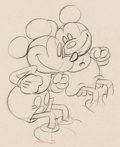 Animation Art:Production Drawing, Puppy Love Mickey Mouse Animation Drawing (Walt Disney,1933). ...
