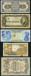 World Currency, Miscellaneous World Notes Twenty Examples.. ... (Total: 20 notes)