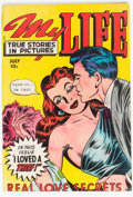 Golden Age (1938-1955):Romance, My Life #9 (Fox Features Syndicate, 1949) Condition: VG....