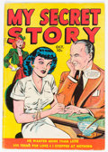 Golden Age (1938-1955):Romance, My Secret Story #26 (Fox Features Syndicate, 1949) Condition:VG+....