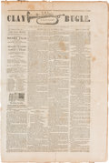Political:Small Paper (pre-1896), Henry Clay: New York Campaign Newspaper....