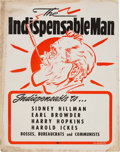 Political:Posters & Broadsides (1896-present), [Wendell Willkie]: Anti-Franklin D. Roosevelt Placard Poster....