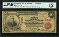 National Bank Notes:Arizona, Nogales, Arizona Territory - $10 1902 Red Seal Fr. 613 The First NB Ch. # (P)6591 PMG Fine 12.. ...
