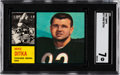 Football Cards:Singles (1960-1969), 1962 Topps Mike Ditka #17 SGC NM 7....