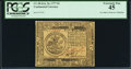 Continental Currency February 26, 1777 $5 PCGS Extremely Fine 45