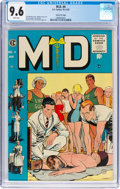Golden Age (1938-1955):Miscellaneous, M.D. #4 Gaines File Pedigree 11/12 (EC, 1955) CGC NM+ 9.6 White pages....