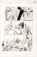 Original Comic Art:Panel Pages, Denys Cowan and Rick Magyar The Question Story Page 15Original Art (DC, 1988)....