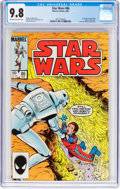 Modern Age (1980-Present):Science Fiction, Star Wars #86 (Marvel, 1984) CGC NM/MT 9.8 Off-white to whitepages....