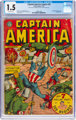 Captain America Comics #20 (Timely, 1942) CGC FR/GD 1.5 Off-white pages