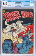 Golden Age (1938-1955):Western, Ghost Rider #1 (Magazine Enterprises, 1950) CGC VF 8.0 Off-white pages....