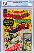 Silver Age (1956-1969):Superhero, The Amazing Spider-Man #14 (Marvel, 1964) CGC VF- 7.5 Off-whitepages....