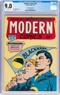 Golden Age (1938-1955):War, Modern Comics #45 Mile High Pedigree (Quality, 1946) CGC VF/NM 9.0White pages....