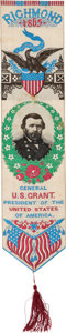 Political:Ribbons & Badges, Ulysses S. Grant: Arguably the Most Beautiful Grant Ribbon Design....
