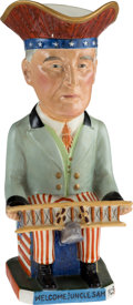Political:3D & Other Display (1896-present), Woodrow Wilson: Allied Leaders Toby Mug. ...