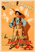 "Movie Posters:Adventure, The Private Life of Don Juan (United Artists, 1934). One Sheet (27""X 41"").. ..."