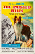 """Movie Posters:Western, The Painted Hills (MGM, 1951). Folded, Fine/Very Fine. One Sheet (27"""" X 41""""). Western.. ..."""