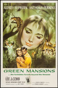 "Movie Posters:Drama, Green Mansions (MGM, 1959). Folded, Fine/Very Fine. One Sheet (27""X 41""). Joseph Smith Artwork. Drama.. ..."