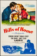 "Movie Posters:Adventure, Hills of Home (MGM, 1948). Folded, Very Fine-. One Sheet (27"" X 41""). Adventure.. ..."