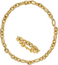 Estate Jewelry:Suites, Convertible Gold Jewelry Suite. ... (Total: 2 Items)