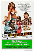 "Movie Posters:Sexploitation, Beneath the Valley of the Ultra-Vixens (RM Films, 1979). One Sheet (27"" X 41""). Sexploitation.. ..."