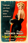 Movie Posters:Film Noir, The Lady from Shanghai (Columbia, 1947). One Sheet...