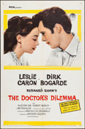 "Movie Posters:Comedy, The Doctor's Dilemma (MGM, 1959). Folded, Very Fine-. One Sheet (27"" X 41""). Comedy.. ..."