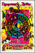 "Movie Posters:Fantasy, The Golden Voyage of Sinbad (Columbia, 1973). Folded, Very Fine-. One Sheet (27"" X 41"") Dynarama Zodiac Advance Style. Fanta..."