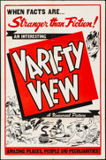 """Movie Posters:Short Subject, Variety View (Universal, 1944). Stock One Sheet (27"""" X 41""""). Short Subject.. ..."""