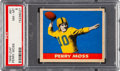 Football Cards:Singles (Pre-1950), 1949 Leaf Perry Moss #81 PSA NM-MT 8 - Pop Four, Only One Higher....