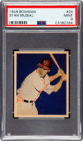 Baseball Cards:Singles (1940-1949), 1949 Bowman Stan Musial #24 PSA Mint 9 - None Higher....