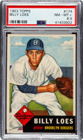 Baseball Cards:Singles (1950-1959), 1953 Topps Billy Loes #174 PSA NM-MT+ 8.5....